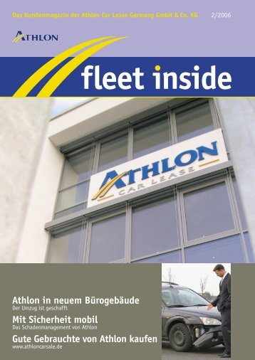 Fleet Inside - Athlon Car Lease