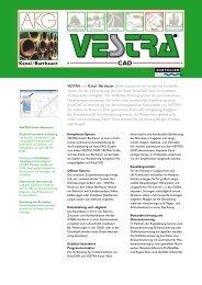 VESTRA und Kanal / Barthauer bilden zusammen ein modernes ...