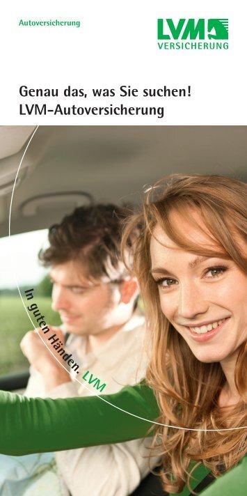 Genau das, was Sie suchen! LVM-Autoversicherung