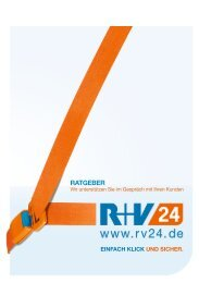 Ratgeber - Wir unterstützen Sie im Gespräch mit Ihren - Zur R+V24
