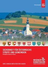 zum Folder - Wiener Städtische