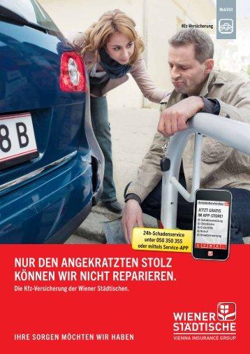 Kundenfolder Kfz-Versicherung - Wiener Städtische