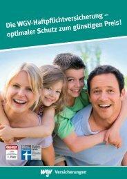 spezieller Schutz - WGV-Versicherungen