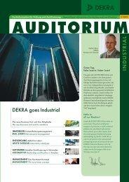 DEKRA goes Industrial INDUS TRIAL