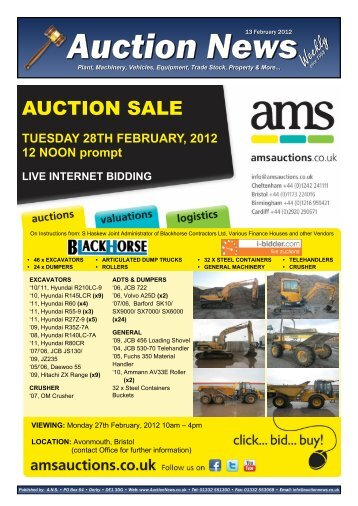 Auction News Feb 12 12 - Auction News Services