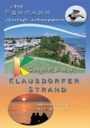 Prospekt - Camping Klausdorfer Strand