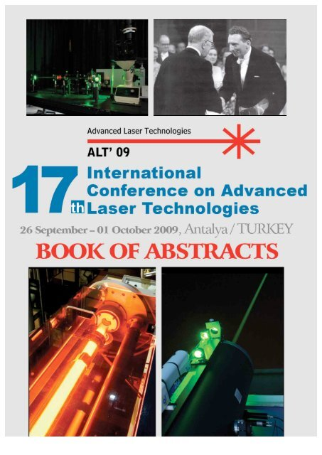 Absttact book - Del Mar Photonics