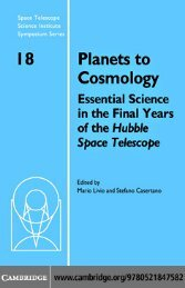 Planets to Cosmology: Essential Science in the ... - bib tiera ru static