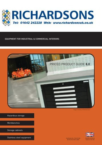 ALTERNATE HAZARDOUS CUPBOARDS (.pdf) - Richardsons ...