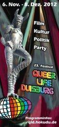 Programmheft als PDF-Datei (1,18 MByte) - queer.life.duisburg ...