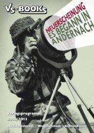 Verlagsprogramm 2012/2013 Verlagsprogramm 2012 ... - VS-Books