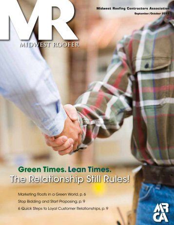 The Relationship Still Rules! - Midwest Roofing Contractors ...