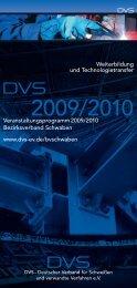 Veranstaltungsprogramm 2009/2010 Bezirksverband Schwaben ...