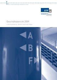 Geschäftsbericht 2009 - Schweizerische Technische Fachschule (STF)