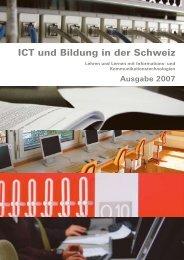 ICT und Bildung 2007 - SFIB - Educa