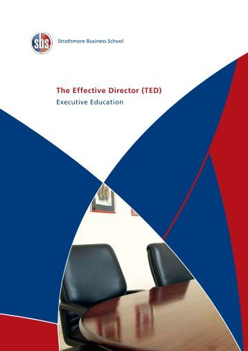 The Effective Director (TED) - Strathmore Business School