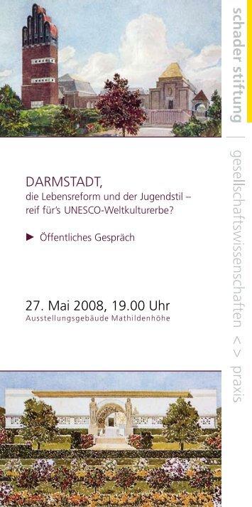 DARMSTADT, die Lebensreform und der Jugendstil - Mathildenhöhe