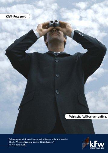 WirtschaftsObserver online, Nr. 48 Juni 2009 - KfW