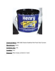 Henry 208 R SBS rubber modified wet patch