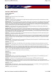 Page 1 of 2 Interview on SBS Television 11/13/2008 http ... - MERLN