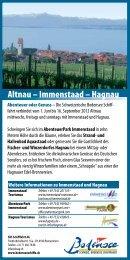 Altnau – Immenstaad – Hagnau - Schweizerische Bodensee ...