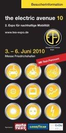 the electric avenue 10 - Expo für nachhaltige Mobilität