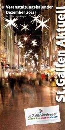 Auszug St.Gallen Aktuell - K & W Verlag