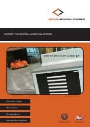 premier 1 workbench range - James Bedford and Co
