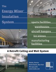 Energy Miser® Insulation System