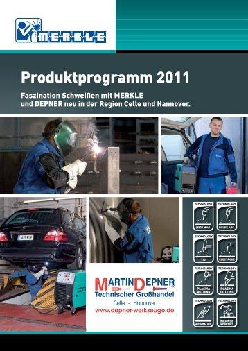 Produktprogramm 2011 - Martin Depner