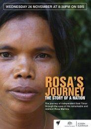 Rosa's Journey Press Kit