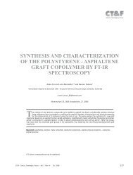 SYNTHESIS AND CHARACTERIZATION OF THE POLYSTYRENE ...