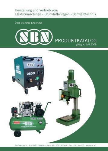 Elektromaschinen – Druckluftanlagen - SBN Neuenkirchen