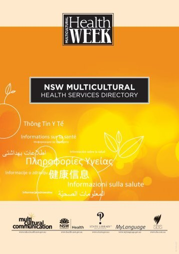 NSW Multicultural Health Directory