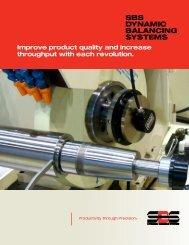 SBS Product Brochure - Dynamic Balance Systems