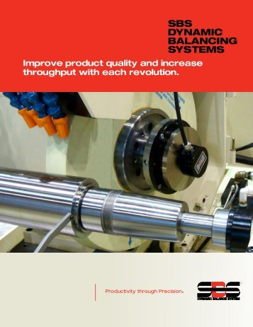 SBS Product Brochure - Dynamic Balance Systems