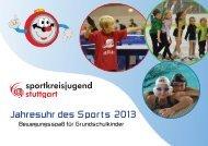 Jahresuhr des Sports 2013 - Website Ralf Knoll