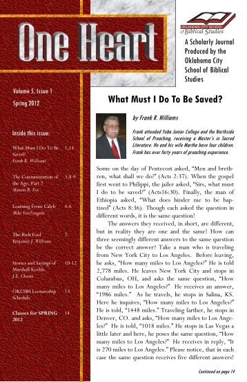 Journal of the martin school of international studies one heart journal oklahoma city school of biblical studies publicscrutiny Choice Image