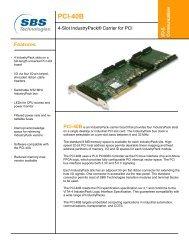 PCI-40B - Acal Technology
