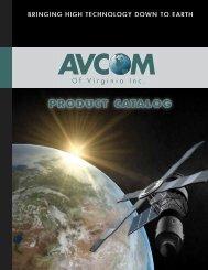 PRODUCT CATALOG - AVCOM of Virginia Incorporated