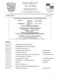 Ausgabe 05/2012 25.05.2012 - Birkenfeld