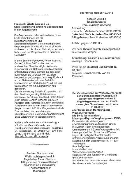 Ausgabe 10/2012 V - Birkenfeld