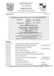 Ausgabe 08/2012 - Birkenfeld
