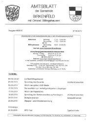 Ausgabe 08/2010 - Birkenfeld