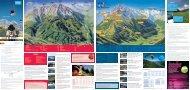 Bergbahnfolder Winter 2011/12 / Sommer 2011 - Stubaital