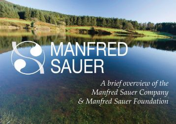 A brief overview of the Manfred Sauer Company & Manfred Sauer ...