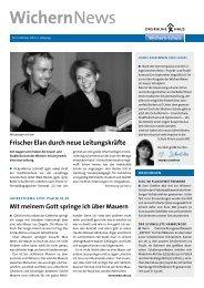 WichernNews 03/2010 - Wichern-Schule