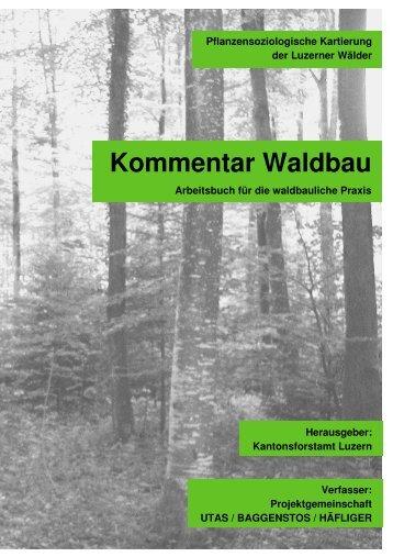 Kommentar Waldbau - Kanton Luzern