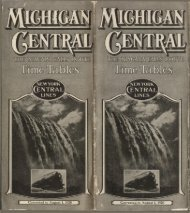 Michigan Central - Canada Southern Railway