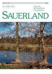 Heft 1 - Sauerländer Heimatbund e.V.